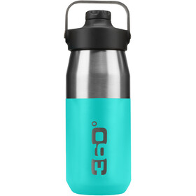 360° degrees Wide Mouth Borraccia isolante con tappo Sipper 550ml, turquoise